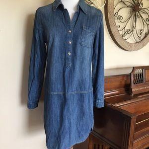 GAP Size Medium Jean Shirt Dress / Tunic